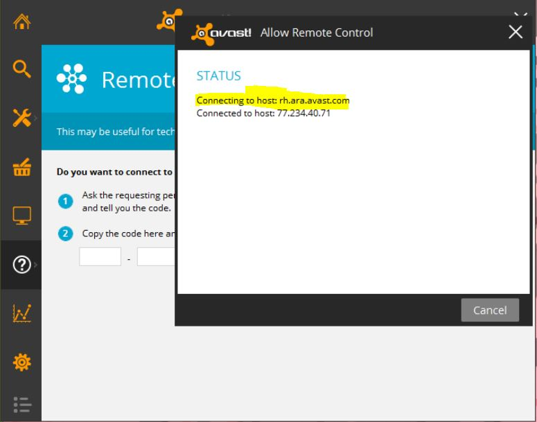 How to use Remote Assistance in Avast Internet Security